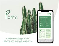Planty | Plant care app