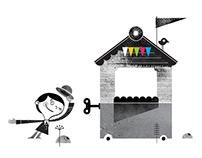 illustration / children's theatre organization