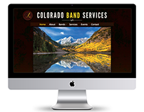 WordPress Website | Colorado Band Services