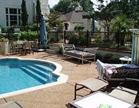 Hardscape Design of Swimming pool
