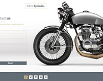 86 Cycles Website Design | 99Designs