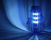 Flat Design Lamp