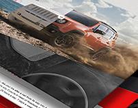 Jeep Renegade Landing page
