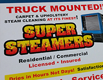 Postcard Design - Super Steamers