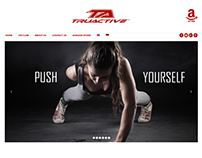 Truactive: Fitness website design and development