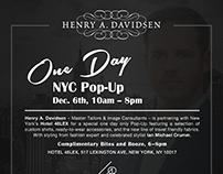Henry A. Davidsen Invites