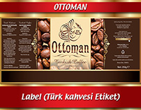 COFFEE LABEL (KAHVE ETİKETİ)
