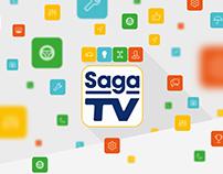Saga TV / Identidade
