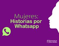 Mujeres: Historias por WhatsApp