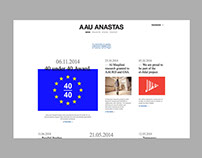 AAU ANASTAS website