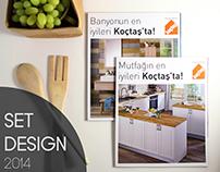 Koçtaş Bathroom + Kitchen 2014 Catalog Photoshoot Set