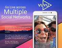 VuYu - Go live simultaneously on multiple ...Screenshot