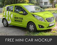 3 Free Mini Car Mockups