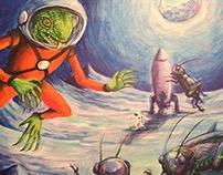 Astro Lizard Mutant Cricket Lunar Feast