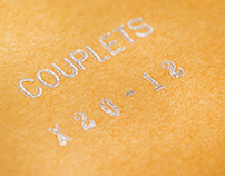 * Couplets : Instagram Photos Postcard Print Set//