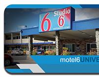 Motel 6 Business Card