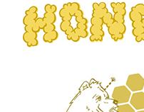 Honey Brand Co. Illustration