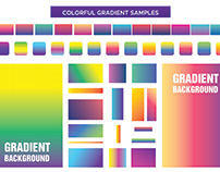 Colorful Gradients samples