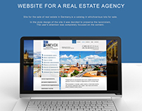 Site for real estate agency in Germani