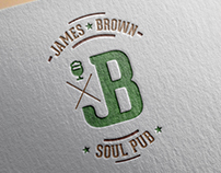 "Logo design ""JB"" soul pub"