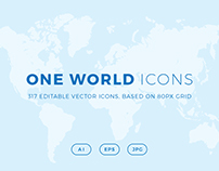 ONE WORLD ICONS - Countries of the World