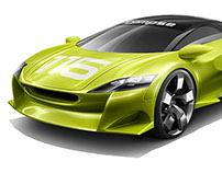 cars rendering