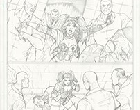 Harley Quinn sample pages