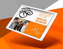 easyJet TECH - Website Creative Direction