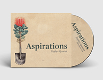 Zephyr Quartet Aspirations CD