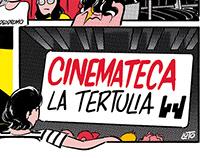 Afiche CINEMATECA La Tertulia