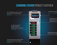 LockerPower - Lockable Cell Phone Charging Stations