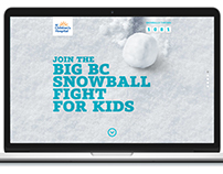 BCCHF Digital Snowball Fight
