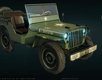 Willis Jeep US Army WW2
