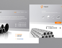 Web-Site Design for «Transsibmetall»