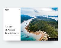 An Eye of Natural Beauty Queen