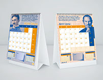Calendarios. Impreso en Duotono
