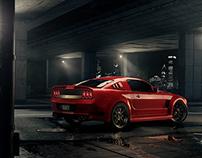 Ford Mustang / Full CG-Shot
