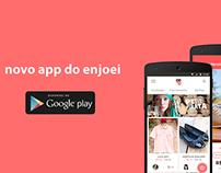 novo app do enjoei para android :P