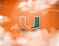 Miami Hurricanes Animated Infographics & Videos