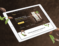 Landing page for Belgium chocolate Barry Callebaut