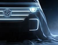 Volkswagen Budd-e Concept Teasers