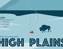 High Plains Poster — Tone Madison