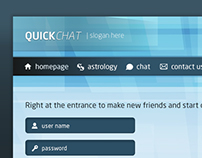 Quick Chat Interface Design