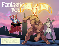 Fantastic Four 300 years in the future!