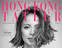 Hong Kong Tatler magazine revamp and layout designs