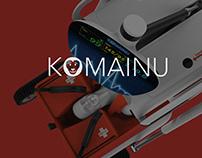 USMC Komainu Semi-Autonomous Rescue Robot