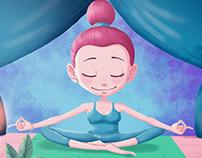 Illustration - Meditate