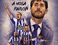 Soccer illustrations - Deportivo de La Coruña