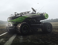 Space Rover Evo-03 concept