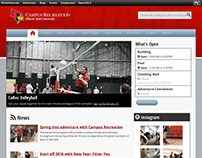 Illinois State Campus Recreation Website